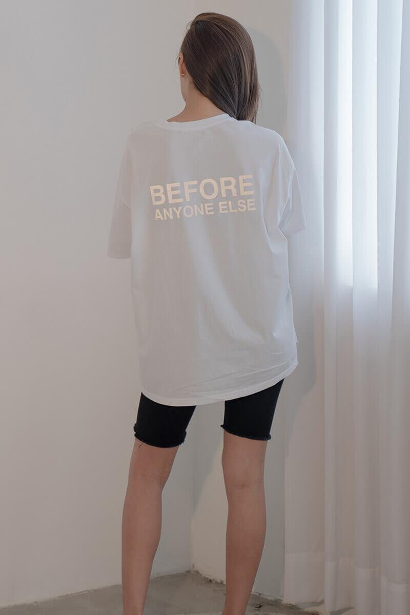 BAE反光印花T恤