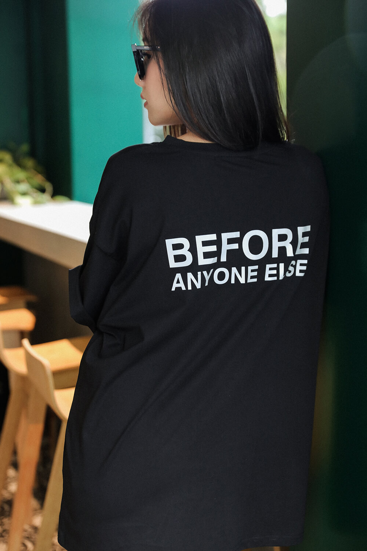 反光印花T恤