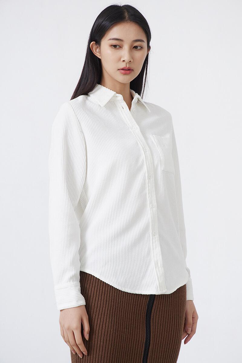 燈芯絨襯衫