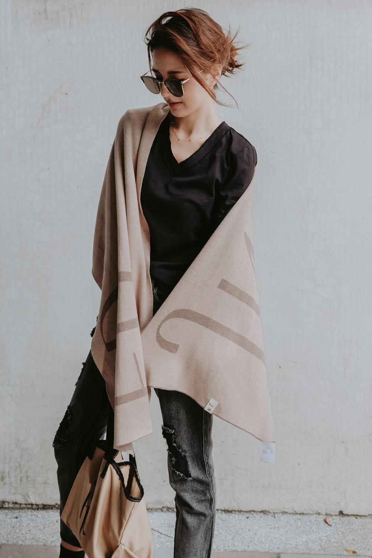 JNFR針織圍巾