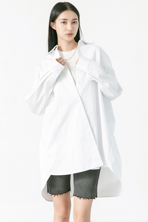 超級白襯衫