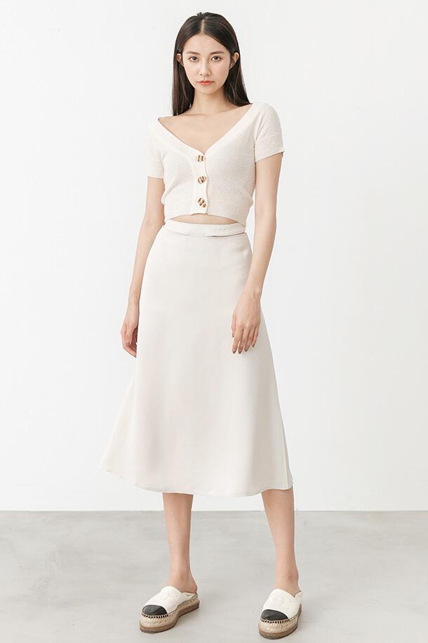 腰帶鏤空裙