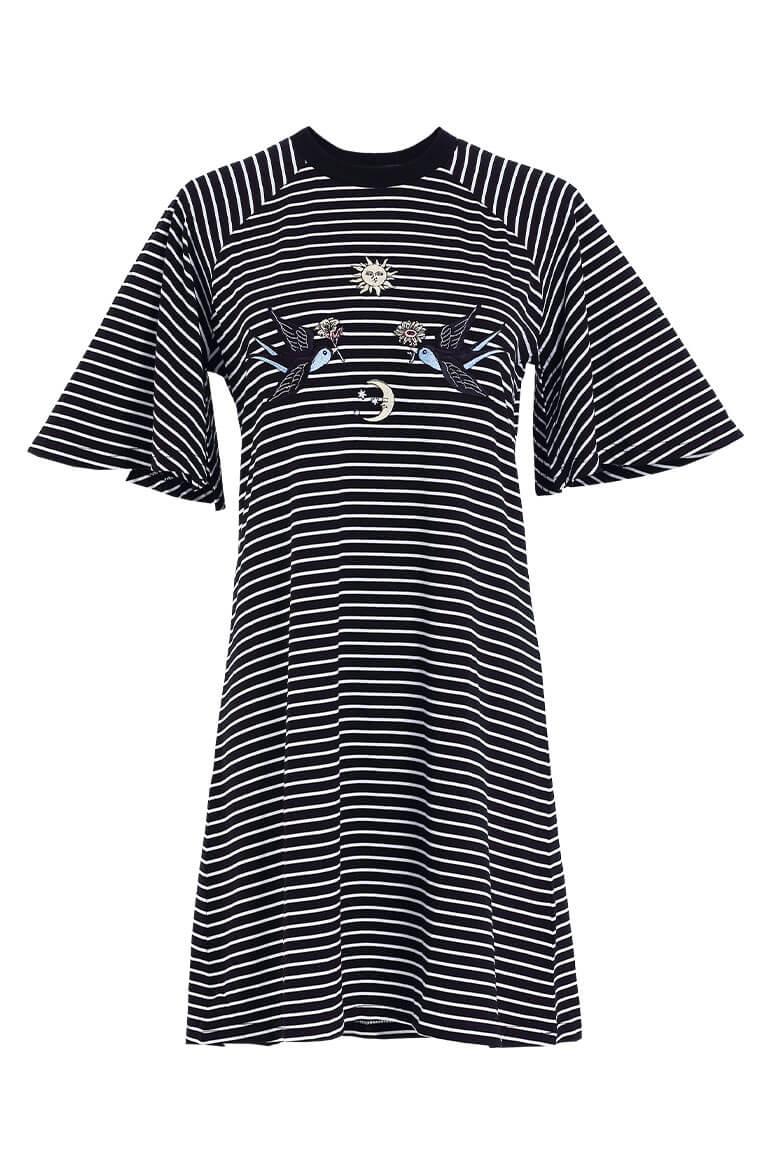 The Circle刺繡洋裝