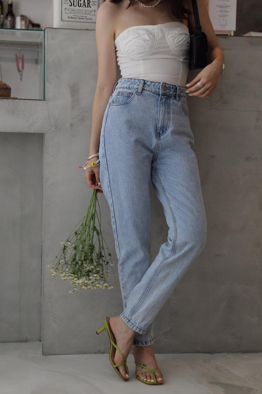 錐形牛仔褲