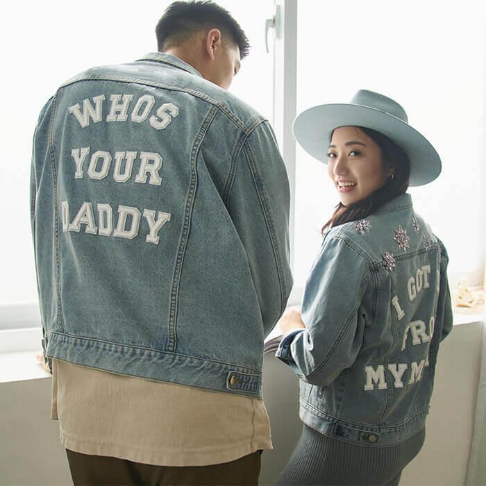 / NEW IN / SINCE Wen 訂製牛仔外套