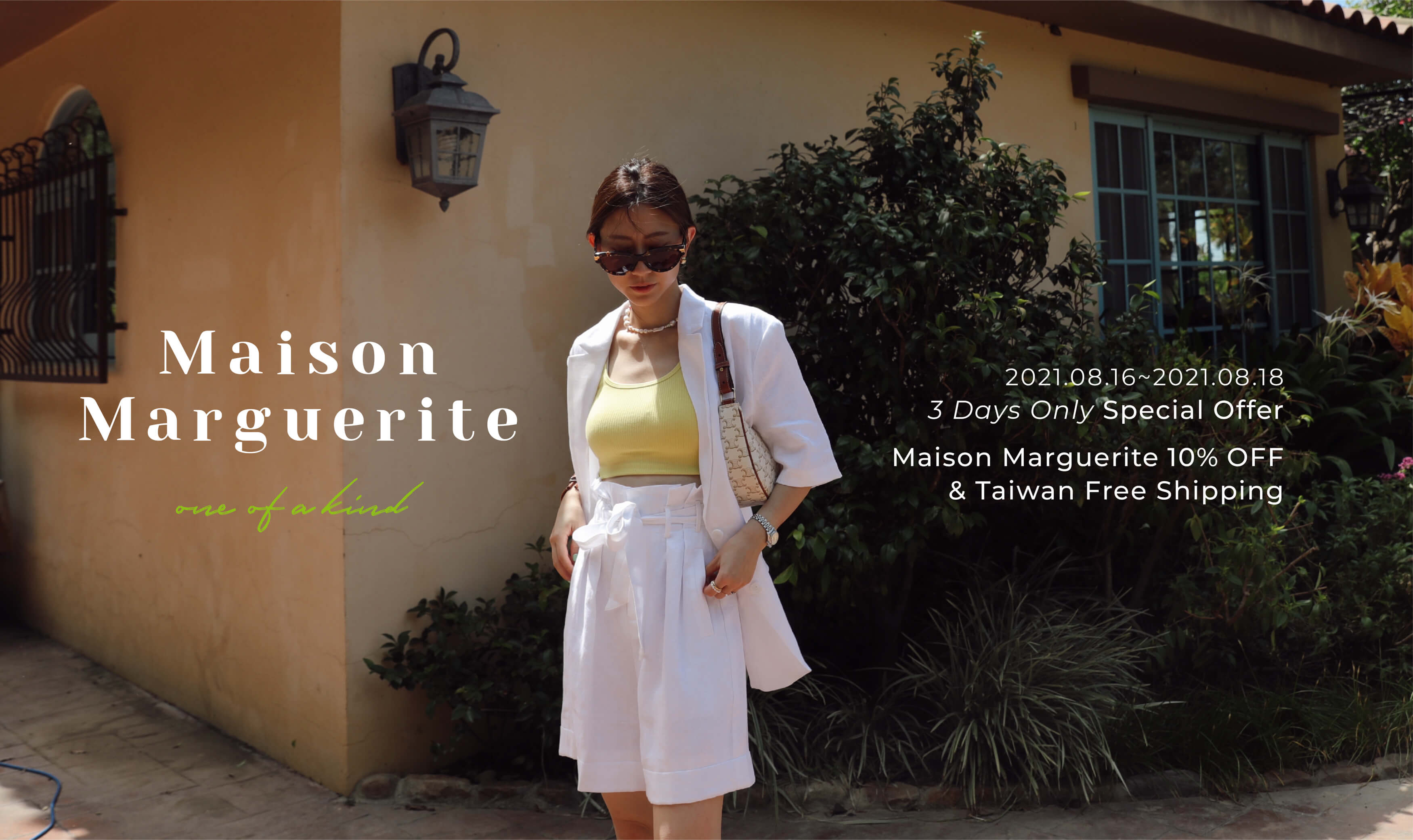 New In   Maison Marguerite Aug. Collection