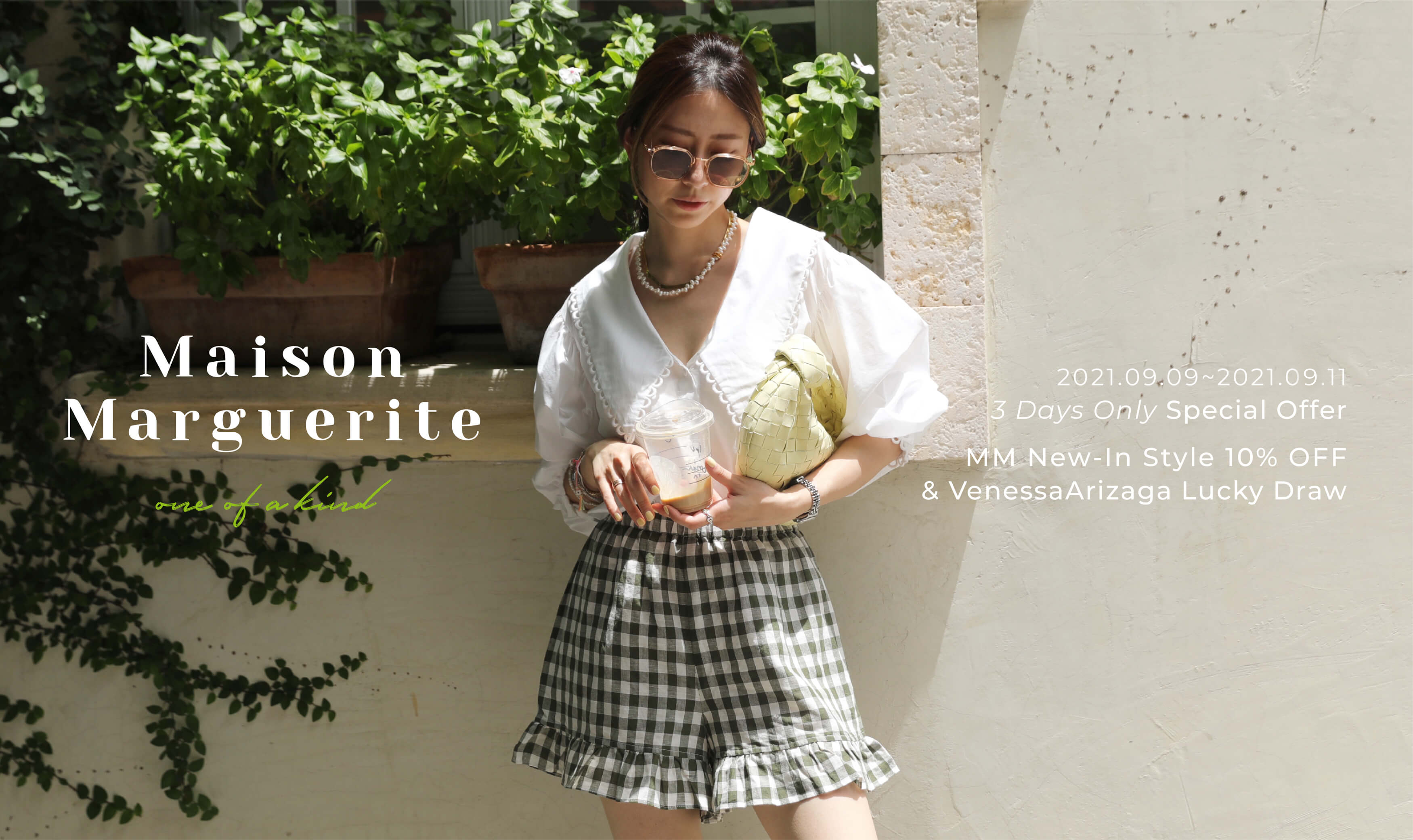 New In   Maison Marguerite Sep. Collection